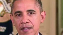 La sombra se cierne sobre el bigote de Obama