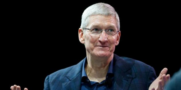 72132a122ba Tim Cook, consejero delegado de Apple: