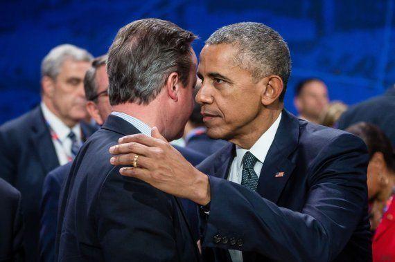 Barack Obama llega a