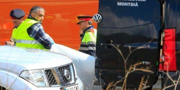Identificadas las víctimas del accidente en Freginals, la mayoría