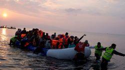 Cientos de personas siguen llegando a Grecia pese al