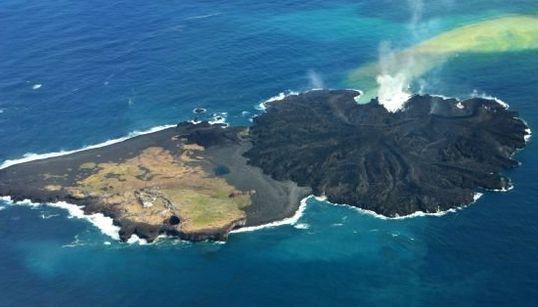 Esta isla japonesa ha multiplicado por cinco su tamaño