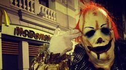 La moda de los payasos siniestros llega a España