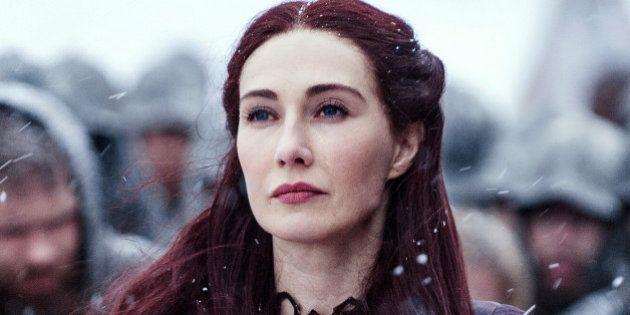 Carice Van Houten, Melisandre en 'Juego de Tronos', embarazada y lista para los