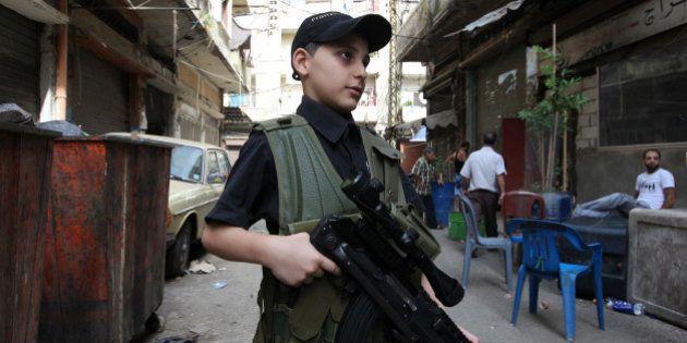 Un niño madrileño de 15 años combate en Siria con Estado