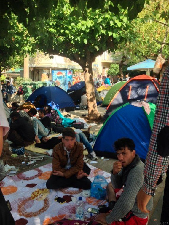 Atenas acoge a los refugiados que nadie quiere en