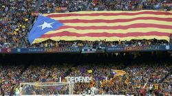 El Camp Nou grita por la independencia