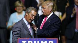 Las declaraciones de Trump sobre Farage (UKIP) que ya no