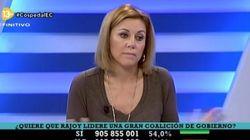 Cospedal culpa a Aguirre de repescar al exgerente