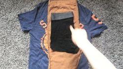 Cómo meter la ropa de todo un día dentro de un par de
