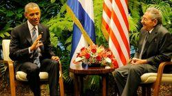Histórico encuentro de Castro y Obama en