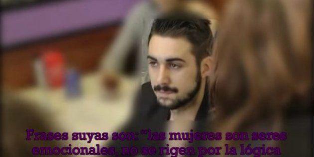 Escrache al 'youtuber' Álvaro Reyes, acusado de apología del machismo y el