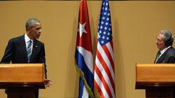 Obama y Castro abordan el embargo y los derechos humanos: