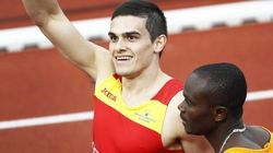 Bruno Hortelano, oro en 200 metros tras la descalificación de