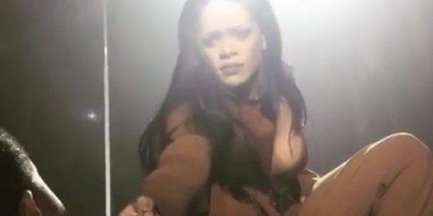 Este fan consigue dejar a Rihanna sin palabras durante un