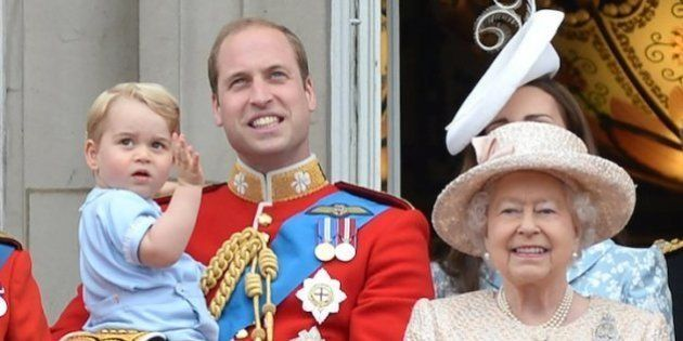 El divertido apodo que el príncipe Jorge le ha puesto a su bisabuela, la reina Isabel
