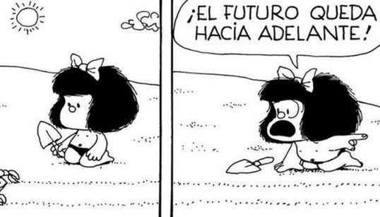 21 píldoras de sabiduría de Mafalda para celebrar el Príncipe de