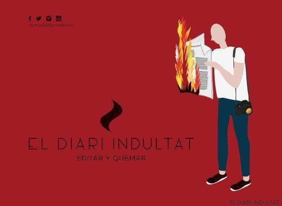 Un libro de fotografía para quemar en las Fallas... si no lo indultan