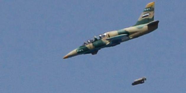 Turquía derriba un avión militar sirio cerca de la