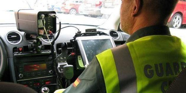 La Guardia Civil desvela la velocidad exacta a la que multan los