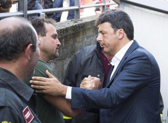 Renzi, tras el terremoto en Italia: