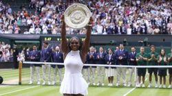 Serena Williams tras ganar Wimbledon: