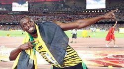 Usain Bolt, campeón del mundo de los 100 metros en