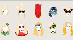 Por su 30 cumpleaños, los 30 'looks' de Lady Gaga que nos dejaron
