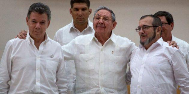 Santos, sobre el acuerdo de paz con las FARC: