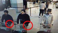 El detalle en la mano de dos de los tres sospechosos del aeropuerto de