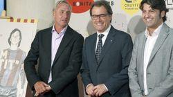 Artur Mas, Cruyff y el 9-N: