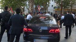 Un detenido por atacar el coche de Montoro en