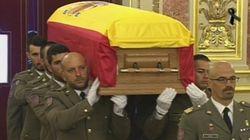 Un multitudinario adiós oficial y ciudadano a Adolfo