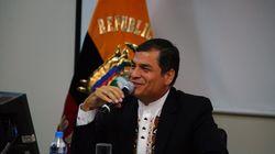 Correa llama a los ecuatorianos en España a