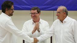 El Gobierno de Colombia y las FARC anuncian un acuerdo de paz final y