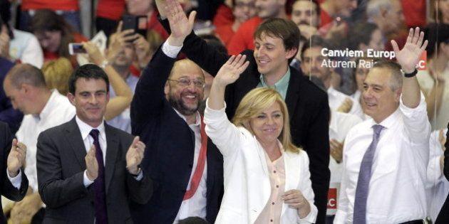 Valls, Schulz y Valenciano claman contra la