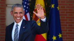 Rajoy recibe a Obama en el Palacio de la