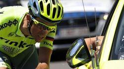 Alberto Contador abandona el Tour de Francia durante la novena