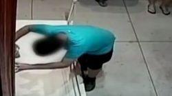 VÍDEO: Un niño se tropieza y cae sobre un cuadro