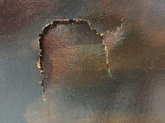 Un niño se tropieza y cae sobre un cuadro renacentista valorado en 1,3 millones de