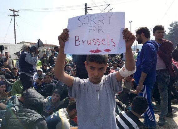 Viernes Santo en Bruselas, en Idomeni y
