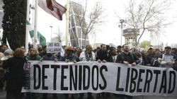 Más de 200 personas piden la libertad de los detenidos el 22M