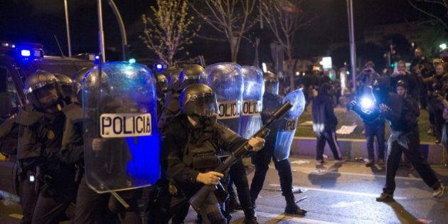 La Policía investigará la actuación de los antidisturbios en las Marchas de la