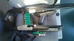 Interceptan un coche con armas en la frontera de La Jonquera y otro se