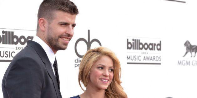 Las risas de Piqué con Shakira y sus 'selfies':