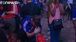 El emotivo gesto de un niño portugués con un aficionado