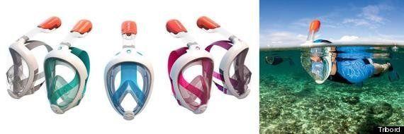 El snorkel que te permite respirar por la