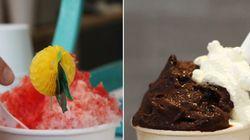Parecidos y diferencias entre un helado japonés y uno