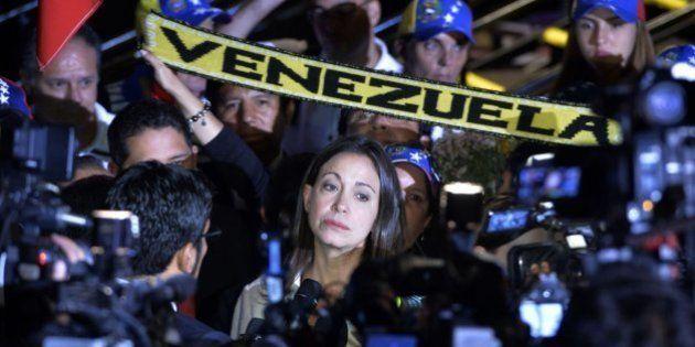 El chavismo quita su escaño a la diputada María Corina Machado por participar en una reunión de la