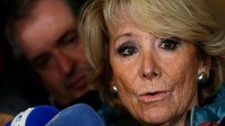 Esperanza Aguirre dimite como presidenta del PP de